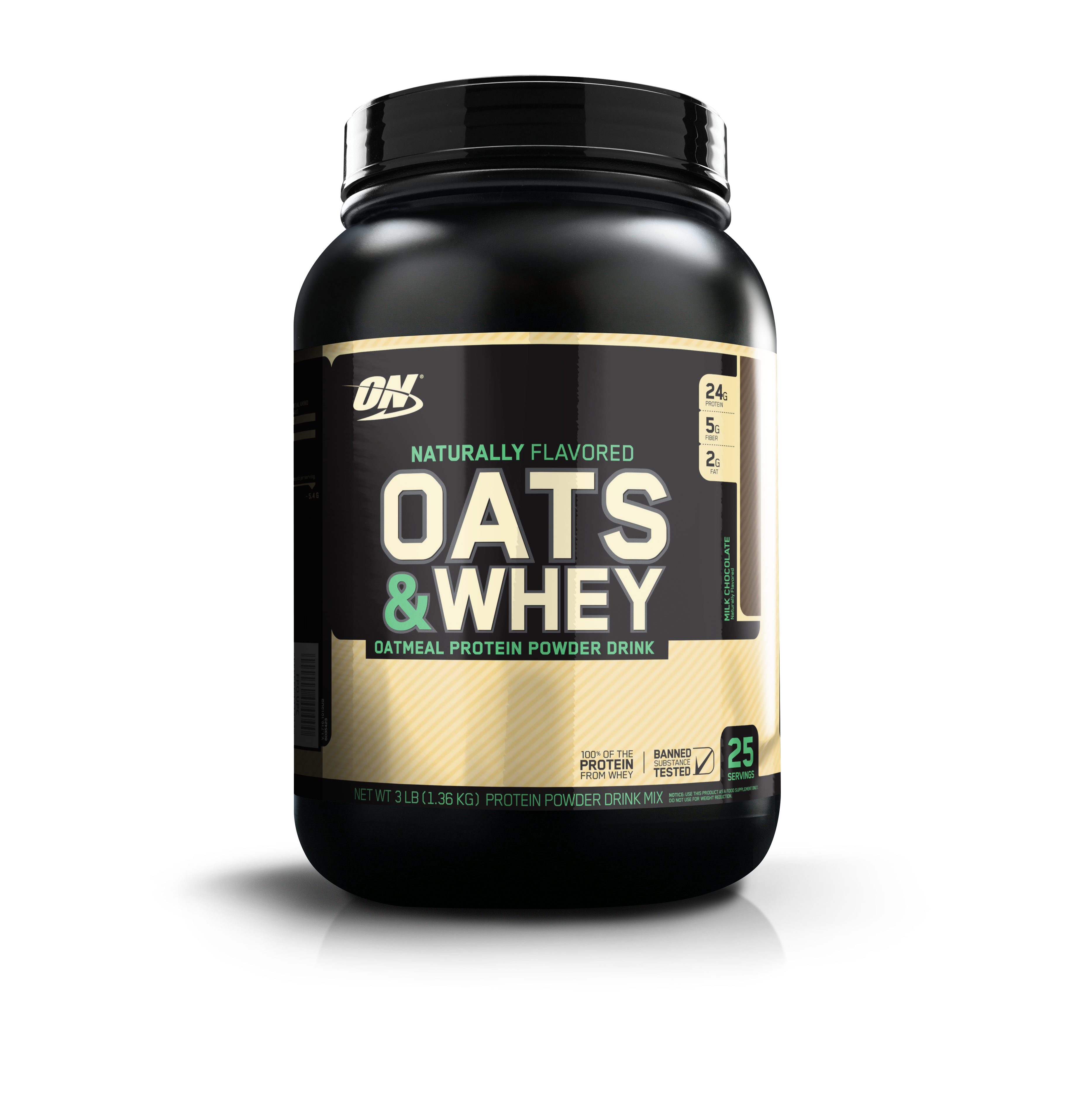 Whey protein with oatmeal