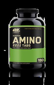 Optimum Nutrition Superior Amino 2222 Tablets