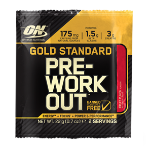 Optimum Nutrition Gold Standard Pre-Workout Sachets