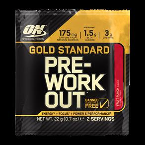 Gold Standard Pre-Workout Sachets