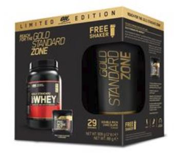 Optimum Nutrition Gold Standard Zone LTD Edition Pre/PostPlus Shaker Bundle 908g