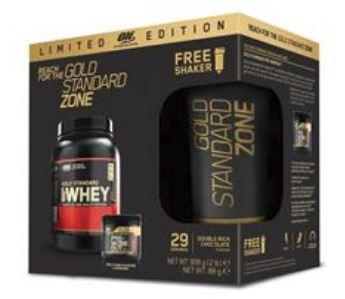Optimum Nutrition Gold Standard Zone LTD Edition Pre/PostPlus Shaker Bundle 908g