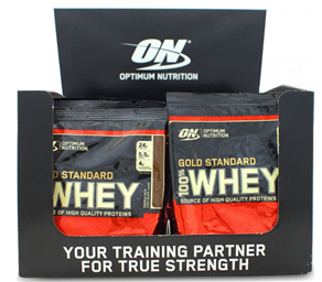 Optimum Nutrition 100% Gold Standard Whey 24 sachets